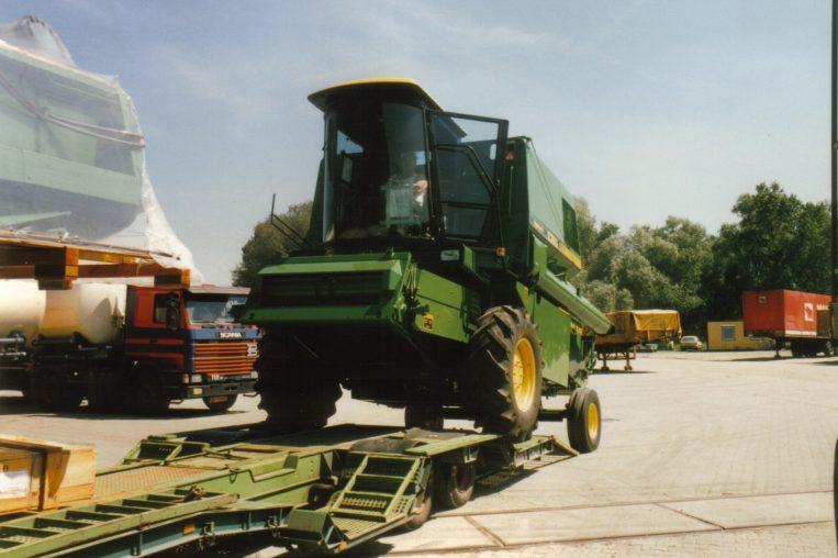Blieske Spedition Arwid Traktoren Historie