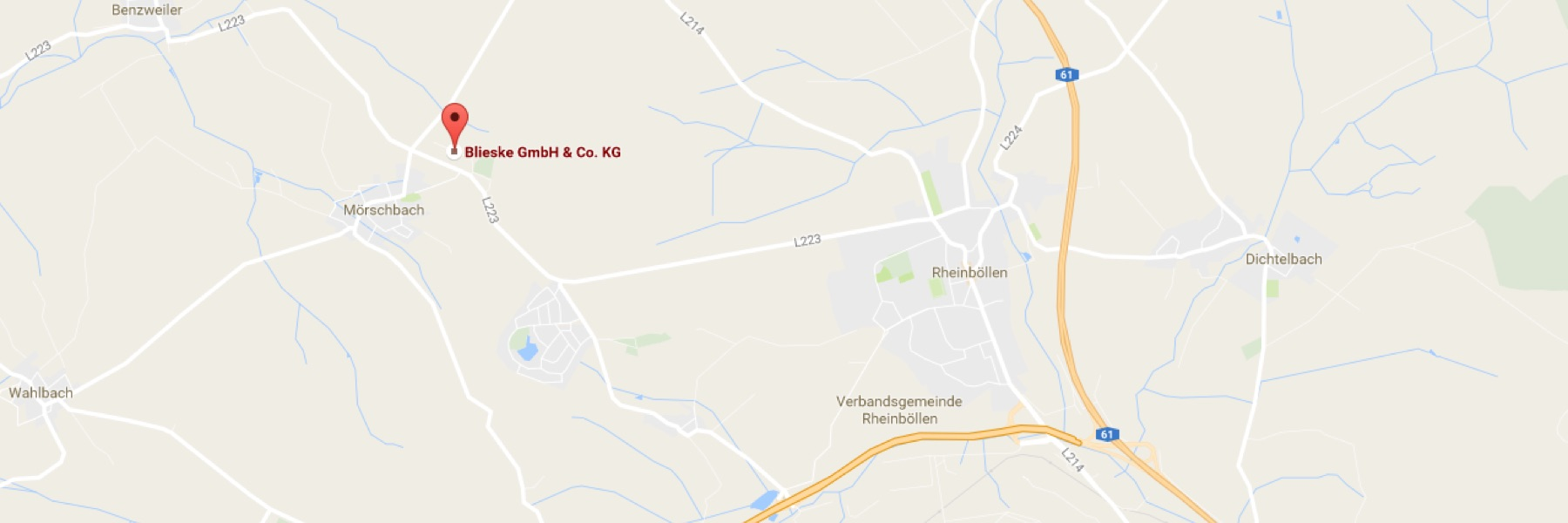 Blieske Spedition in Google Maps | Blieske Spedition